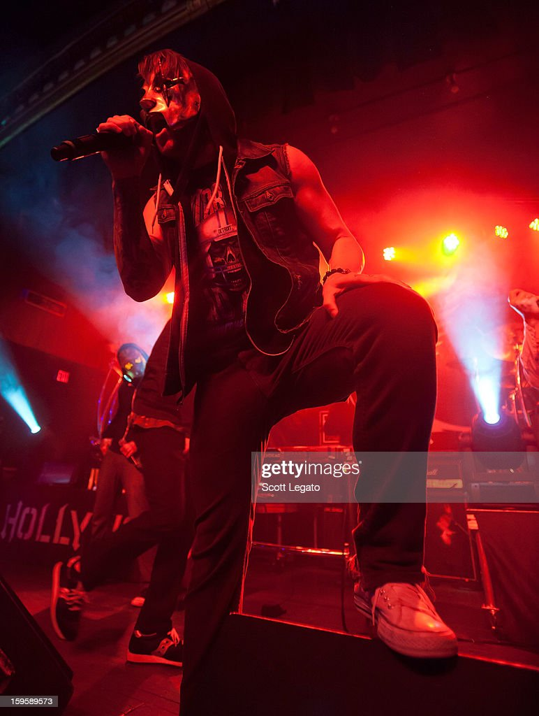 Danny of Hollywood Undead performs in concert at St. Andrew's Hall on January 16, 2013 in Detroit, Michigan.