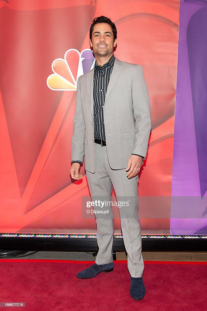 Danny Pino attends the 2013 NBC Upfront Presentation Red Carpet Event at Radio City Music Hall on May 13, 2013 in New York City.