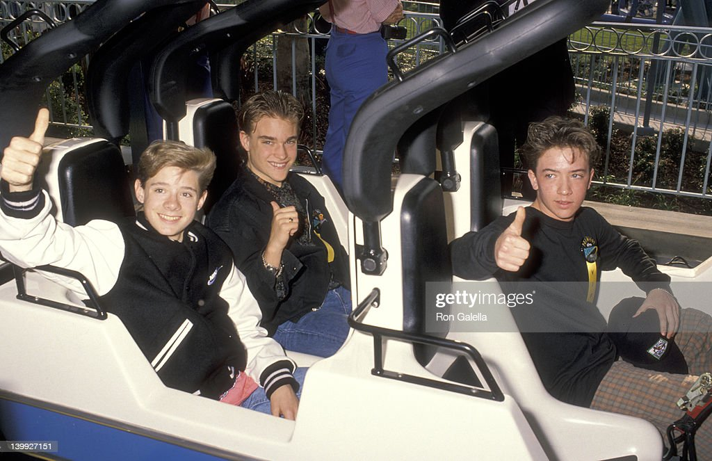 Danny Pintauro Chad Allen and David Faustino at the Opening of Knott's Berry Farm's New Theme Park AttractionBoomerang Roller Coaster Knott's Berry...