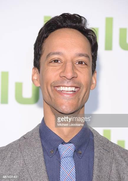 Danny Pudi attend Hulu's Upfront Presentation on April 30 2014 in New York City