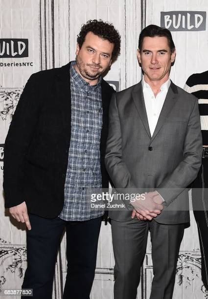 Danny R McBride and Billy Crudup attend the Build Series to discuss the movie 'Alien Covenant' at Build Studio on May 16 2017 in New York City