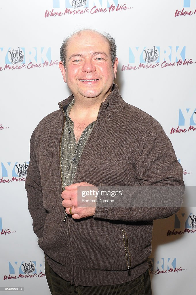 Danny Rutigliano attends the off-Broadway opening night of 'Silk Stockings' at The York Theatre at Saint Peter's on March 22, 2013 in New York City.