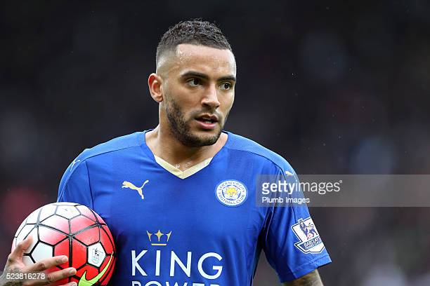 Danny Simpson of Leicester City during the Barclays Premier League match between Leicester City and Swansea City at the King Power Stadium on April...