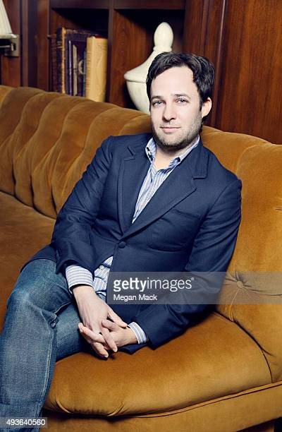 Danny Strong actor screenwriter television writer and television producer poses for a portrait at TheGrill for The Wrap on October 6 2015 in Los...