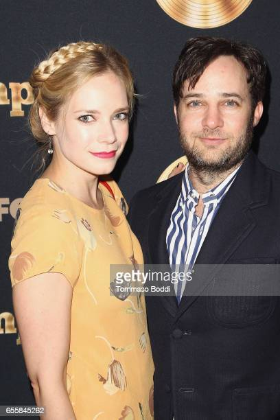 Danny Strong and guest attend the Spring Premiere Of FOX's 'Empire' at Pacific Theatres at The Grove on March 20 2017 in Los Angeles California