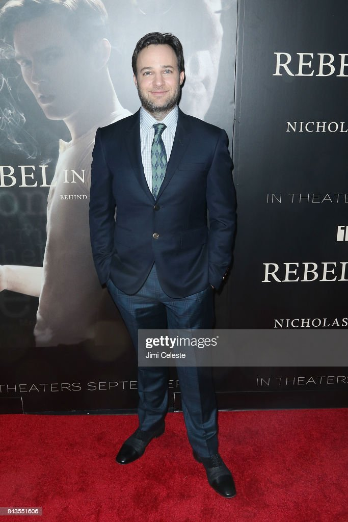 Danny Strong attends 'Rebel in the Rye' screening and after party hosted by Jean Shafiroff and IFC Films at Metrograph on September 6, 2017 in New York City.