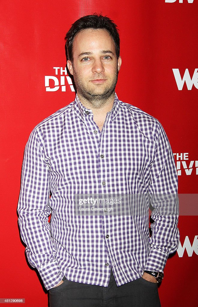 Danny Strong attends 'The Divide' series premiere at Dolby 88 Theater on June 26, 2014 in New York City.