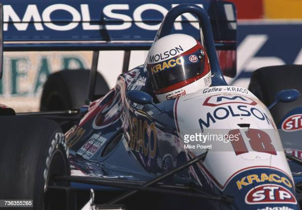 Danny Sullivan of the United States drives the Galles Racing Galmer G92 Chevrolet 265A during the Championship Auto Racing Teams 1992 PPG Indy Car...