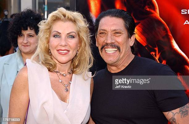 Danny Trejo and guest during XXX Los Angeles Premiere in Westwood California United States