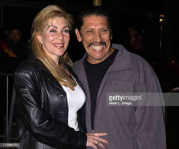 Danny Trejo and wife Debbie during 'Formula 51' Los Angeles Premiere at Arc Light Theater in Hollywood California United States