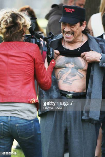 Danny Trejo attends the 'Hope Lost' photocall at Casa del Cinema on March 15 2014 in Rome Italy