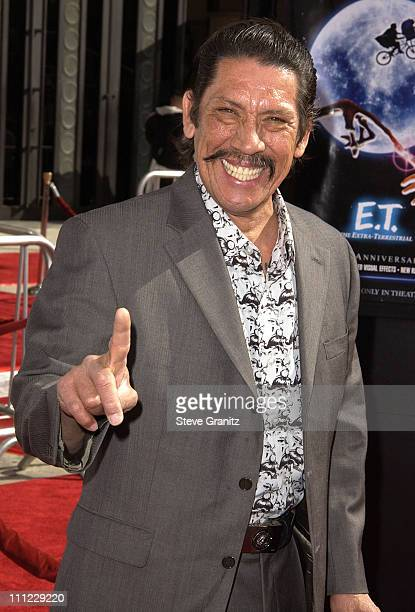 Danny Trejo during 20th Anniversary Premiere of Steven Spielberg's 'ET The ExtraTerrestrial' Arrivals at The Shrine Auditorium in Los Angeles...