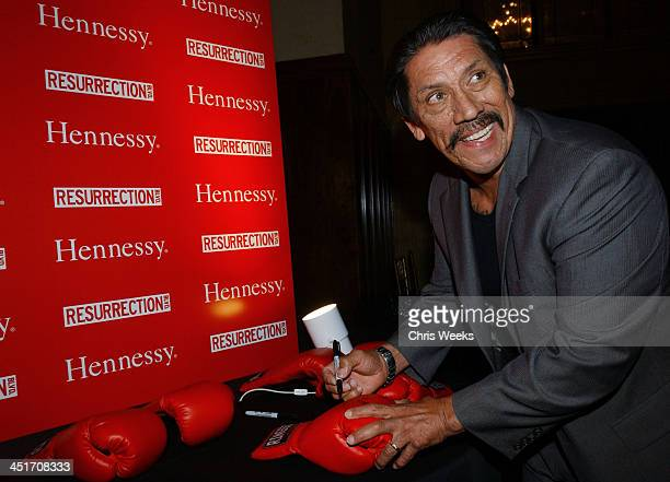 Danny Trejo during Resurrection Blvd Celebrates its 3rd Season Hosted by Hennessy Cognac with a $10000 Donation to AIDS Charity Las Memorias at Park...