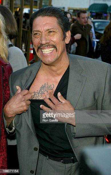 Danny Trejo during 'The Salton Sea' World Premiere at The Egyptian Theater in Hollywood California United States