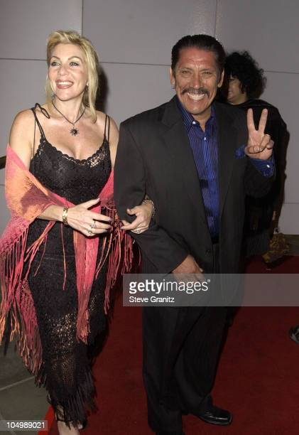 Danny Trejo wife Debbie during 'Frida' Premiere Los Angeles at Los Angleles County Museum of Art in Los Angeles California United States