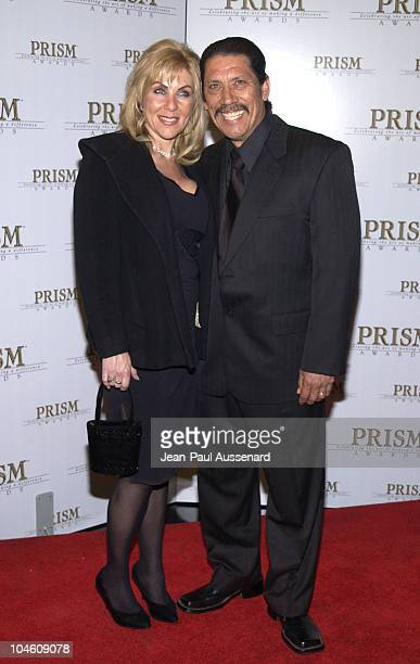 Danny Trejo wife during The 6th Annual Prism Awards at CBS Television City in Los Angeles California United States