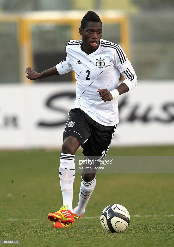 Danny Vieira Da Costa of Germany during U20 International Friendly match between Italy and Germany at Stadio Cosimo Puttilli on February 6, 2013 in Barletta, Italy.