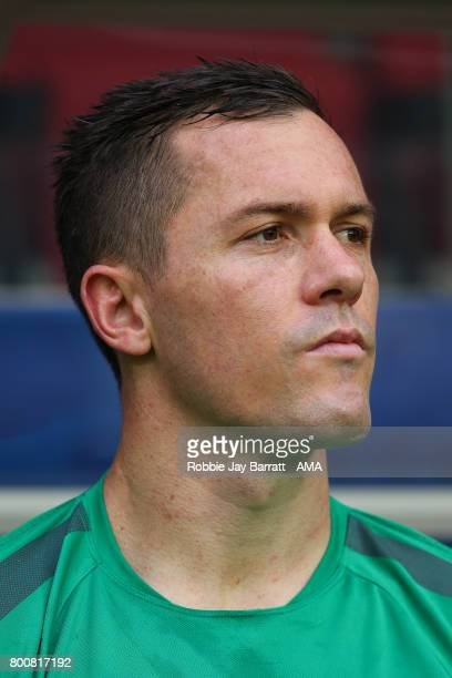 Danny Vukovic of Australia during the FIFA Confederations Cup Russia 2017 Group B match between Chile and Australia at Spartak Stadium on June 25...