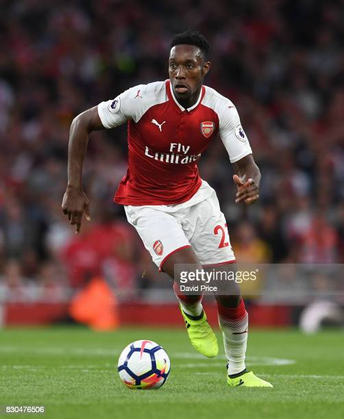 Danny Welbeck of Arsenal during the Premier League match between Arsenal and Leicester City at Emirates Stadium on August 11 2017 in London England