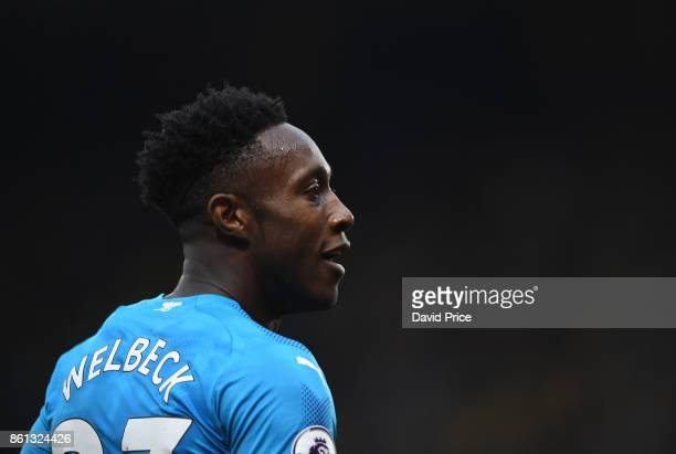 Danny Welbeck of Arsenal during the Premier League match between Watford and Arsenal at Vicarage Road on October 14 2017 in Watford England