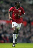 Danny Welbeck of Manchester United in action during the FA Youth Cup semifinal second leg match between Manchester United Under18s and Arsenal...