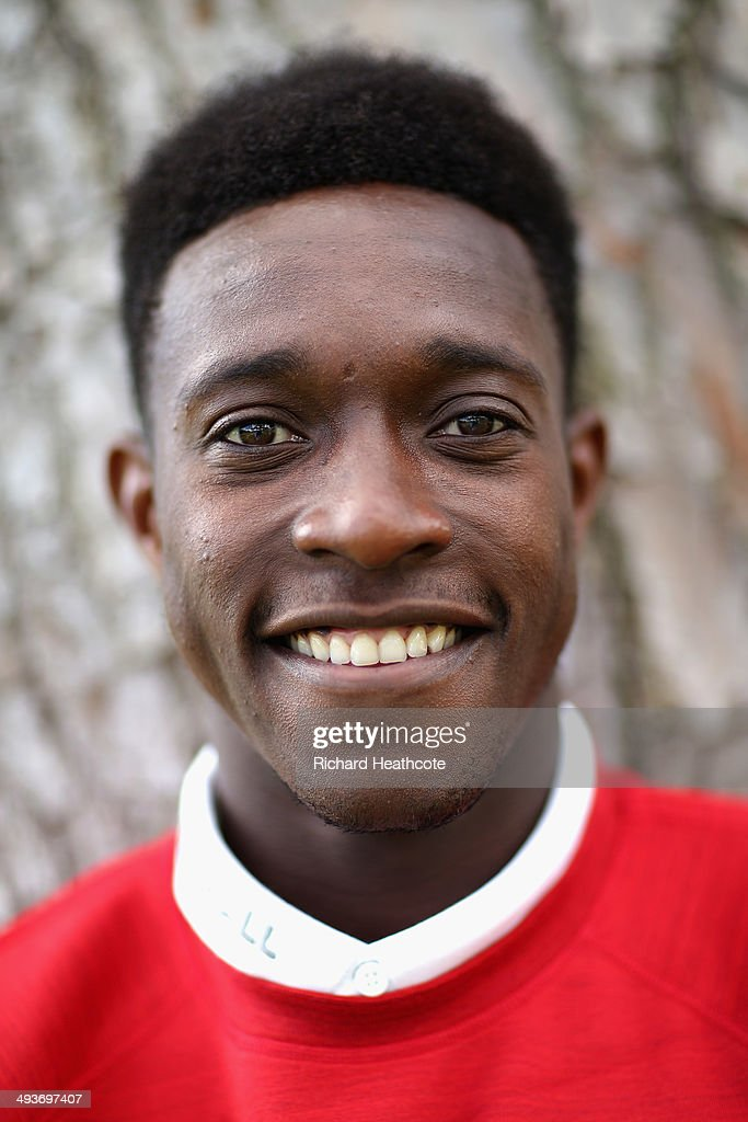 Danny Welbeck poses for a picture after a press conference at the England pre-World Cup Training Camp at the Vale Do Lobo Resort on May 21, 2014 in Vale Do Lobo, Algarve, Portugal.