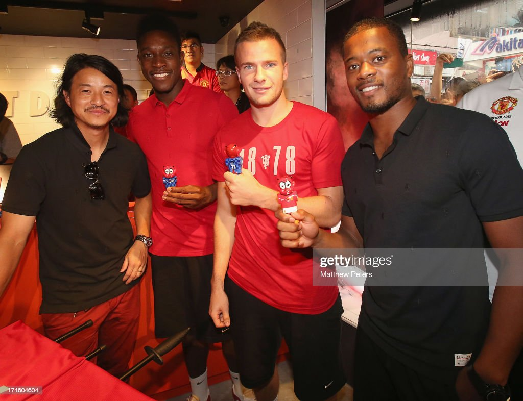 Manchester United Q&A Session At Nike Store In Hong Kong