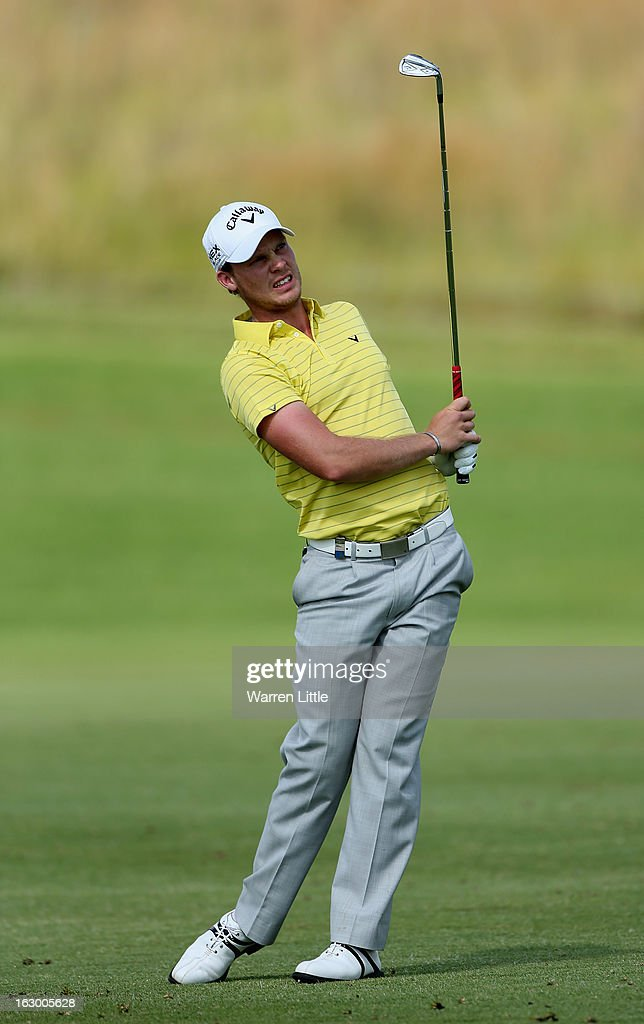 <a gi-track='captionPersonalityLinkClicked' href=/galleries/search?phrase=Danny+Willett&family=editorial&specificpeople=4488861 ng-click='$event.stopPropagation()'>Danny Willett</a> of England in action during the final round of the Tshwane Open at Copperleaf Golf & Country Estate on March 3, 2013 in Centurion, South Africa.
