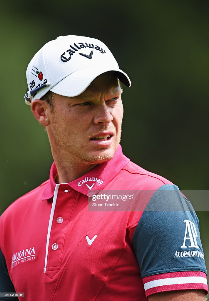 Danny Willett of England looks on during the final round of the Omega European Masters at CranssurSierre Golf Club on July 26 2015 in CransMontana...