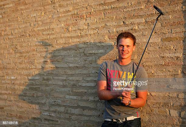 Danny Willett of England pictured after the Proam event prior to the Open de Espana at the Real Club de Golf de Sevilla on April 30 2008 in Seville...