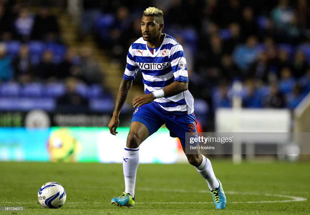 Danny Williams of Reading in action during the Sky Bet Championship match between Reading and Leeds United at Madejski Stadium on September 18, 2013 in Reading, England.