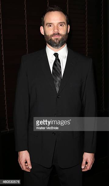 Danny Wolohan attends the Opening Night After Party for 'Pocatello' at Heartland Brewery on December 15 2014 in New York City