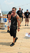 Danny Wood attends the Third NKOTB Cruise at Port of Miami Dodge Island on May 12 2011 in Miami Florida
