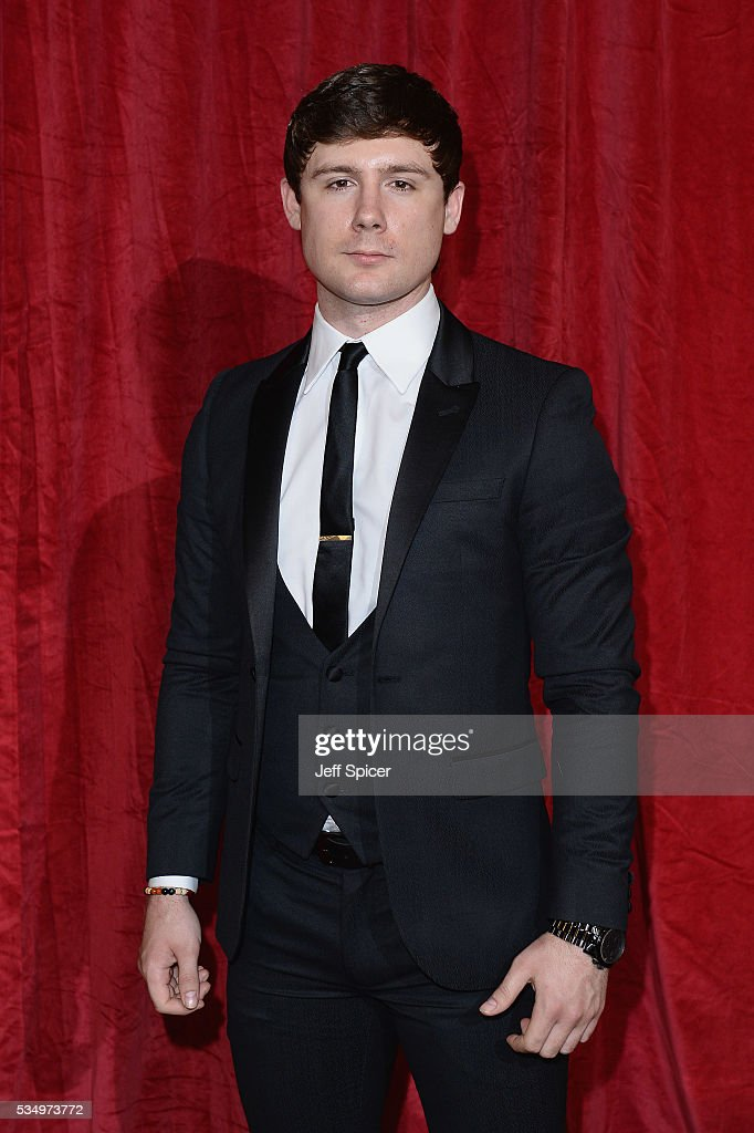 Danny-Boy Hatchard attends the British Soap Awards 2016 at Hackney Empire on May 28, 2016 in London, England.