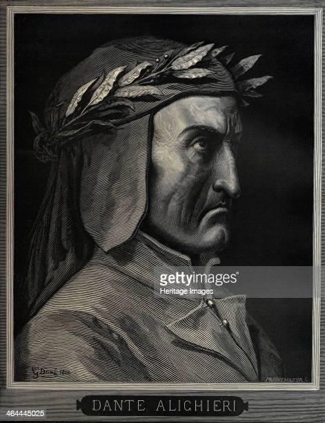 Dante Alighieri 1860 From a private collection