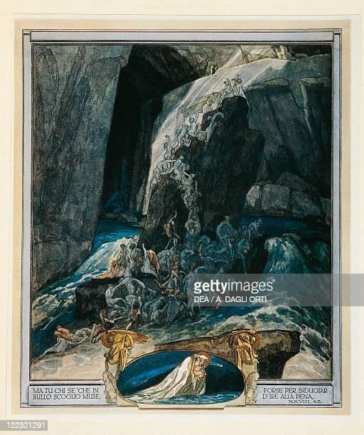 Dante Alighieri Divina Commedia 13041321 Inferno Canto XXVIII Illustration by Franz von Bayros Vienna 1921