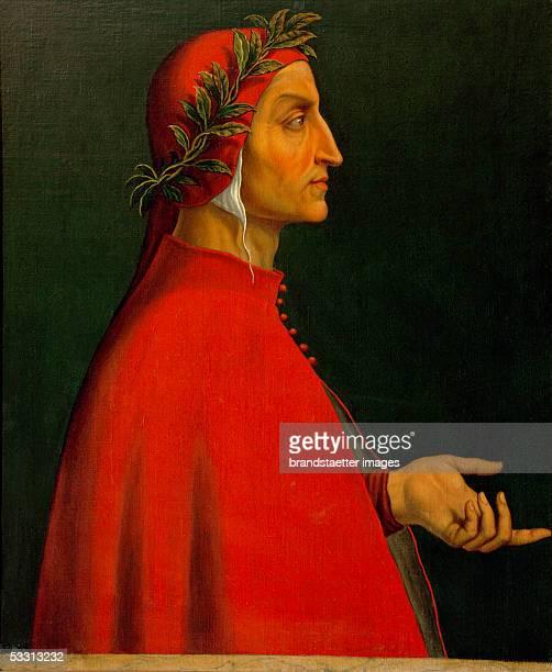 Dante Alighieri Italian poet who wrote the 'Divina Commedia' Inv 8066 [Dante Alighieri italienischer Dichter der die 'Gottliche Komoedie' schrieb Inv...
