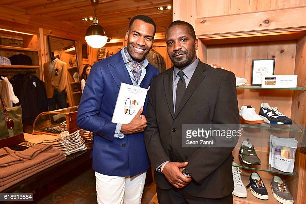 Dante Chappell and Maurice Walker attend Frank Muytjens JCrew Celebrate David Coggins New Book 'Men and Style' at JCrew Men's Shop on October 27 2016...