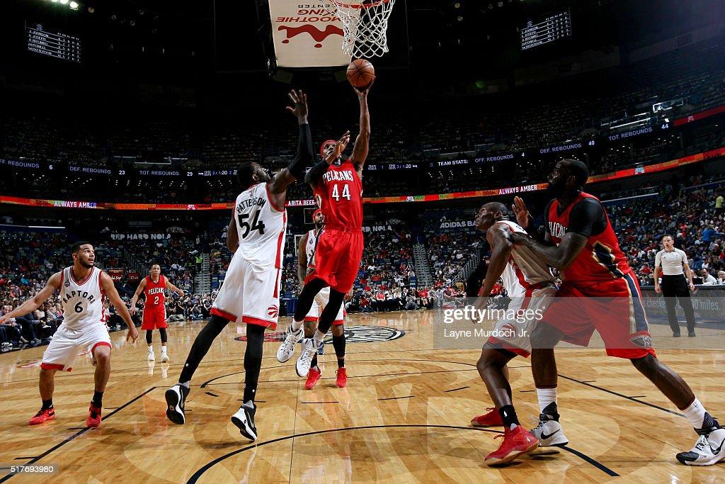Toronto Raptors v New Orleans Pelicans