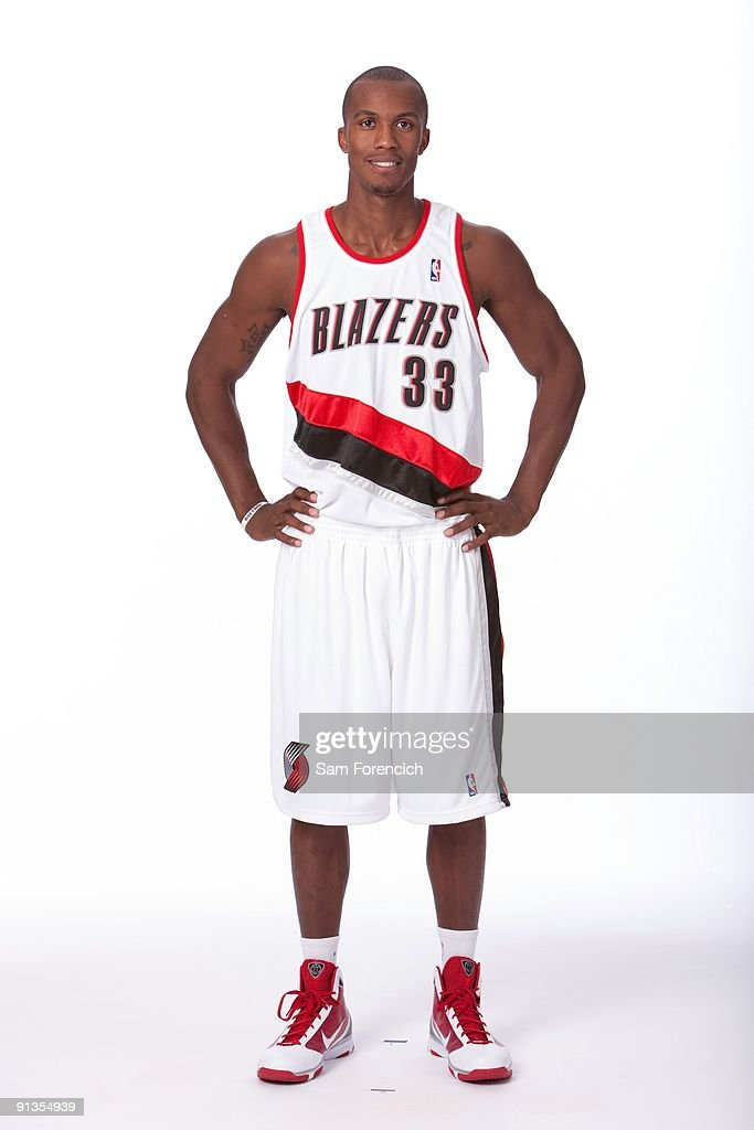 Dante Cunningham of the Portland Trail Blazers poses for a portrait during 2009 NBA Media Day at The Rose Garden on September 28, 2009 in Portland, Oregon.
