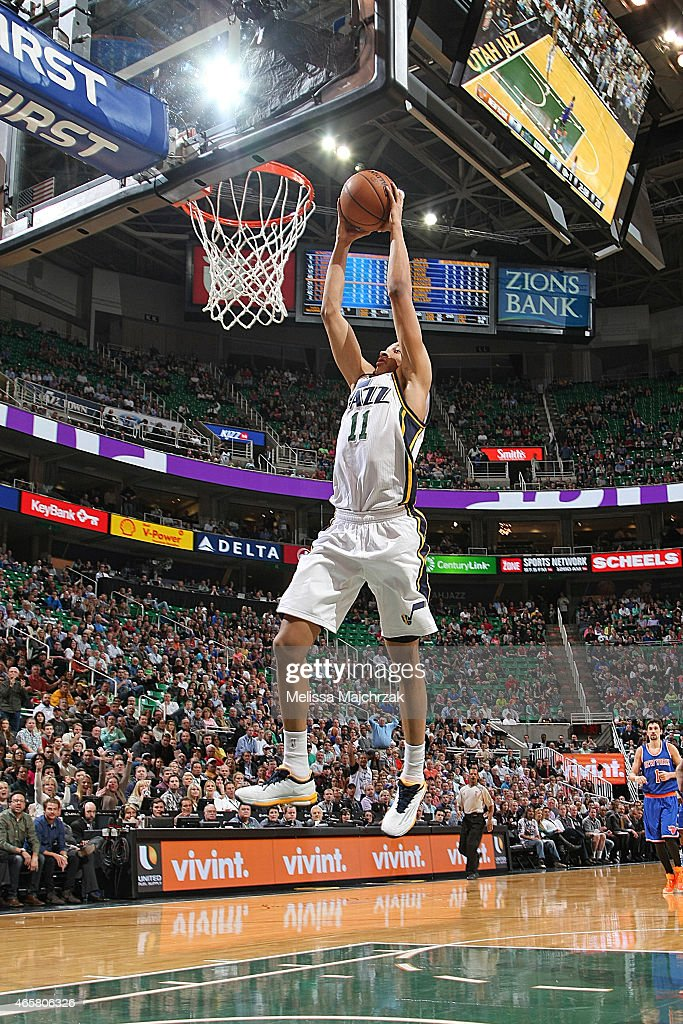 new york knicks v utah jazz getty images