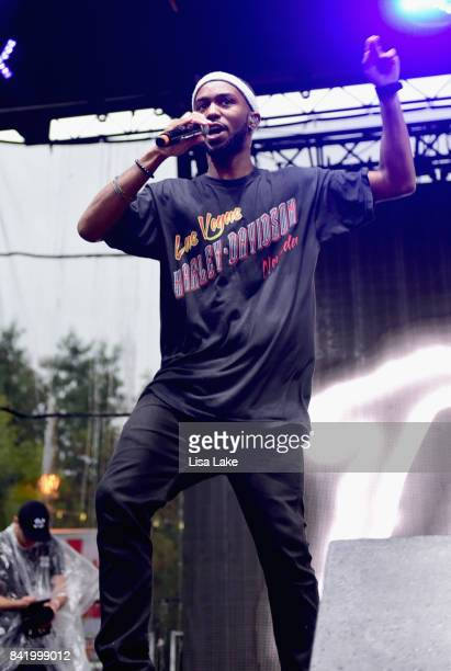 Dante Jones of THEY performs onstage during the 2017 Budweiser Made in America festival Day 1 at Benjamin Franklin Parkway on September 2 2017 in...
