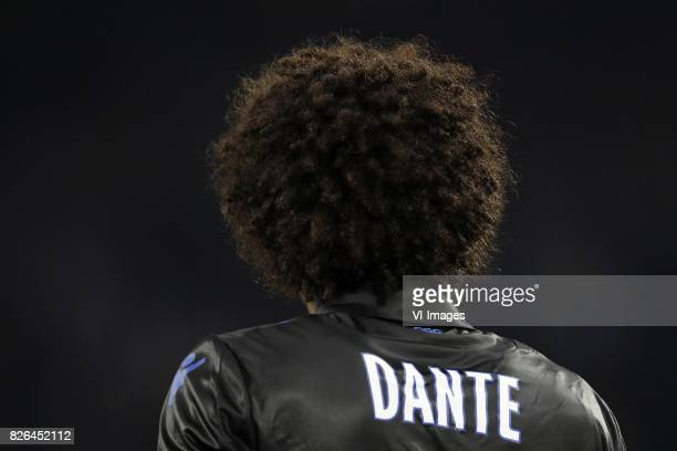 Dante of OCG Nice during the UEFA Champions League third round qualifying first leg match between Ajax Amsterdam and OGC Nice at the Amsterdam Arena...