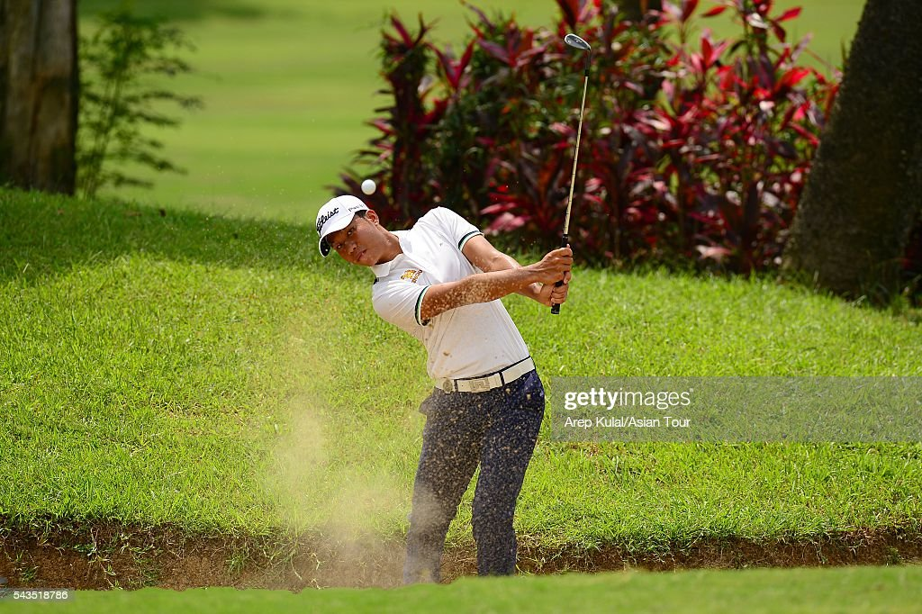 Danthai Boonma of Thailand pictured during the ProAM tournament ahead of Yeangder Tournament Players Championship at Linkou International Golf Club on June 29, 2016 in Taipei, Taiwan.