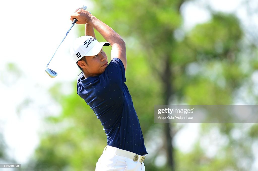 Danthai Boonma of Thailand pictured during thr round two of the Yeangder Tournament Players Championship 2016 at Linkou International Golf Club on July 1, 2016 in Taipei, Taiwan.