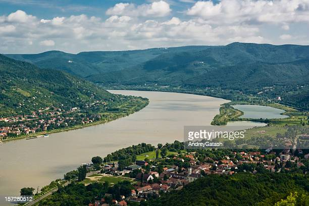 Danube river bend, Hungary