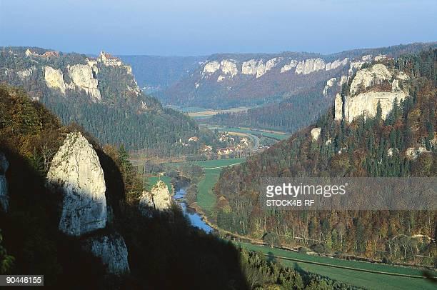 Danube Valley, Swabian Alb, Baden-Wurttemberg, Germany