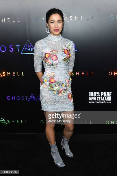 Danusia Samal attends the 'Ghost In The Shell' premiere hosted by Paramount Pictures DreamWorks Pictures at AMC Lincoln Square Theater on March 29...