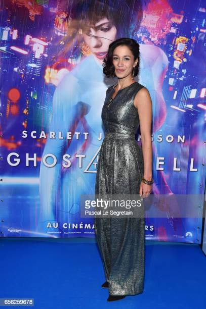 Danusia Samal attends the Paris Premiere of the Paramount Pictures release 'Ghost In The Shell' at Le Grand Rex on March 21 2017 in Paris France