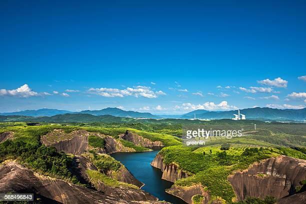 Danxia Mountain and Lakes